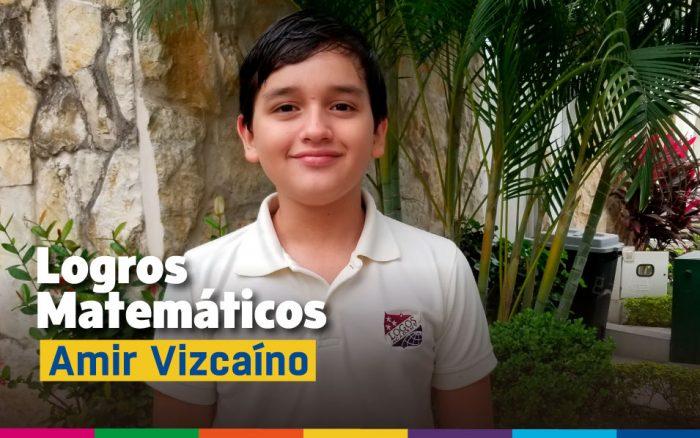 Logro Olimpiada Matemáticas Amir Vizcaino